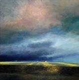 Stormy Skies by Claire Bergin, Painting, Acrylic on board